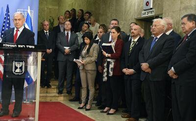 Netanjahu podczas spotkania z premierem Portugalii