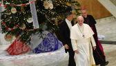 Papież Franciszek przyjął choinkę i szopkę od darczyńców