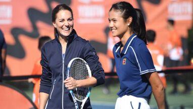 Raducanu znów na salonach. 18-latka zagrała w tenisa z księżną Kate