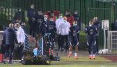Trening reprezentacji Francji przed meczem z Finlandią