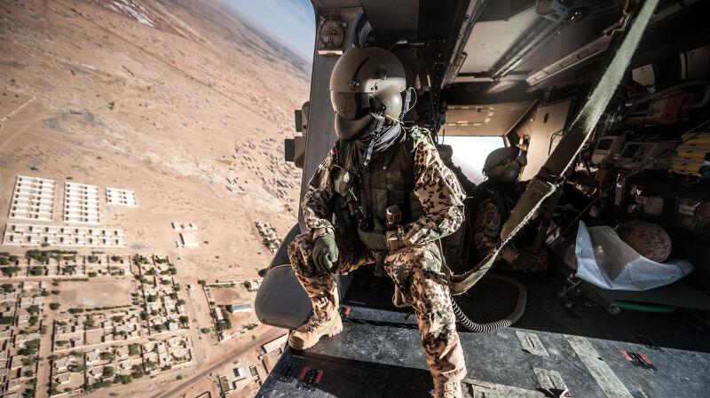 Śmigłowce niemieckiej Bundeswehry w Mali
