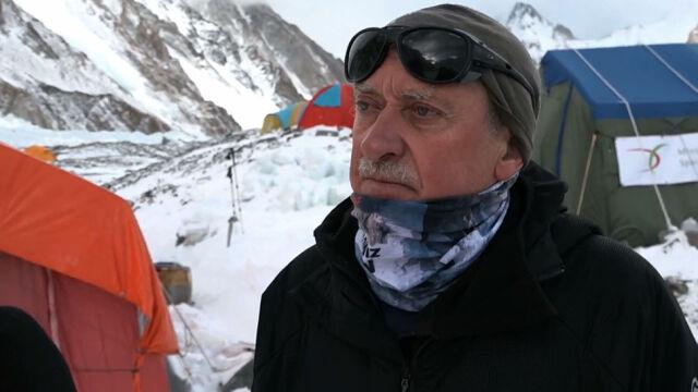 """""""Urubko jutro będzie prawdopodobnie atakował szczyt. Martwię się o jego zejście"""""""