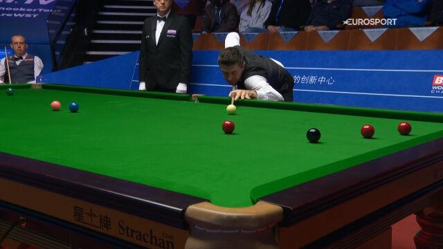 76-punktowy brejk Selby'ego w 7. frejmie ćwierćfinału mistrzostw świata