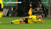 Fatalna kontuzja Moreya w półfinale Pucharu Niemiec