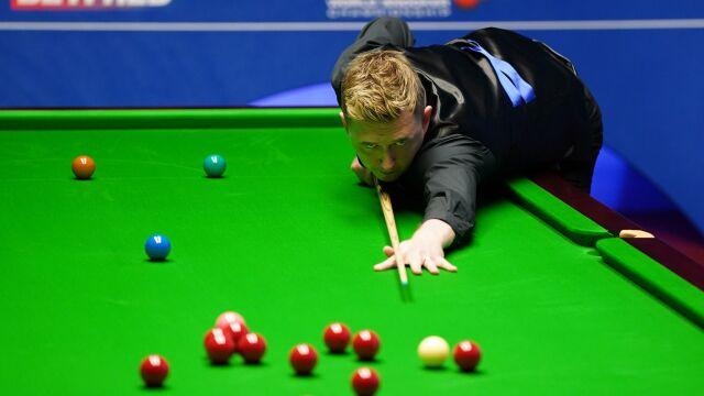 Wilson pierwszym półfinalistą mistrzostw świata. Fatalny dzień Robertsona