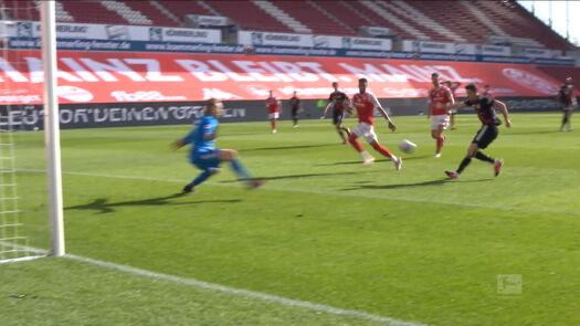 Skrót meczu Mainz – Bayern Monachium w 31. kolejce Bundesligi