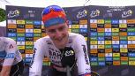 Mohorić po wygraniu 7. etapu Tour de France