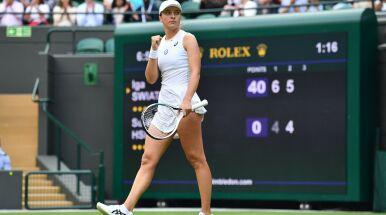 Świątek podbija Wimbledon. Czas na kolejną rywalkę