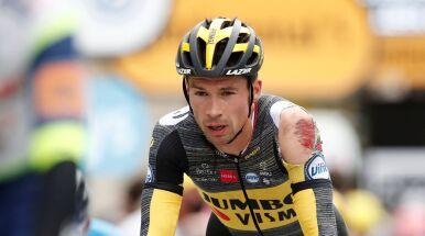 Tour de France już bez jednego z faworytów. Poobijany Słoweniec wycofał się
