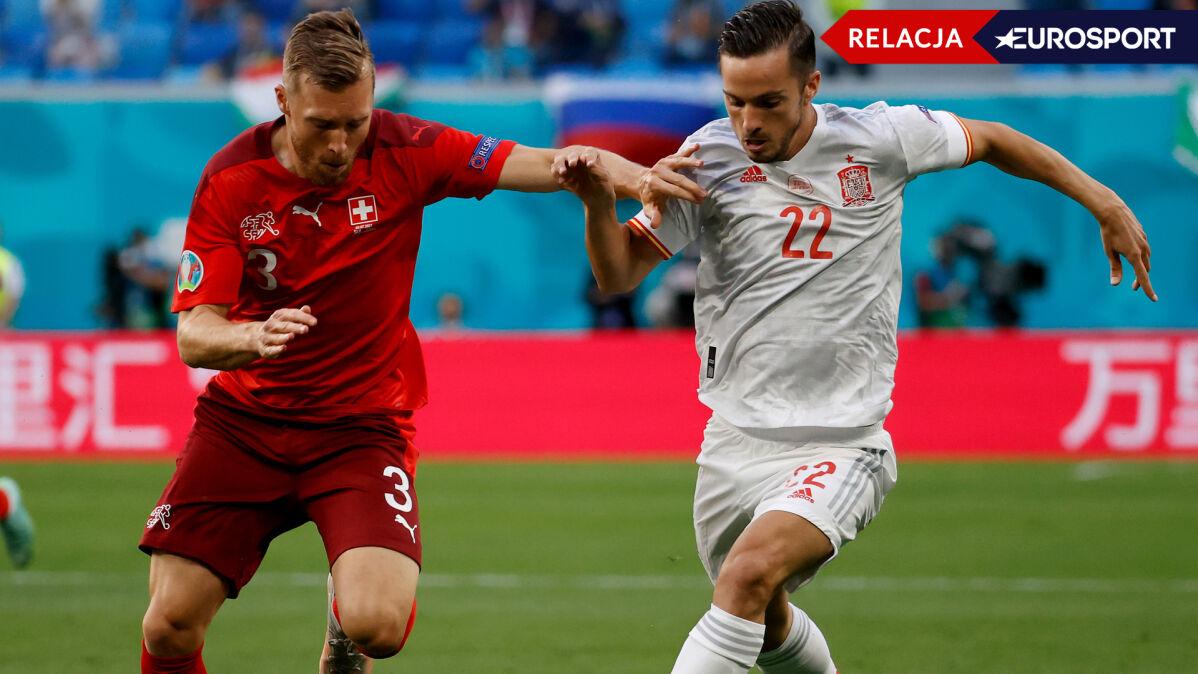 Hiszpanie podkręcają tempo w dogrywce, bramkarz Szwajcarów wyczynia cuda