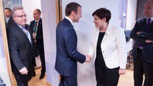 Szydło poleci do Paryża na spotkanie z Macronem