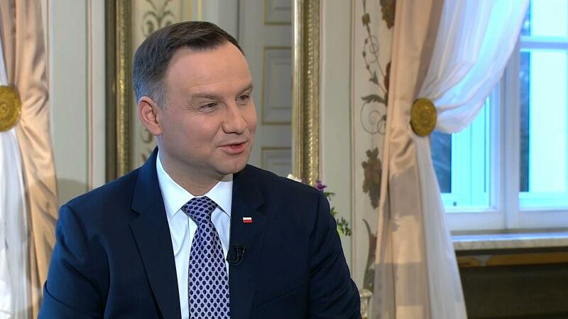Prezydent Duda o współpracy z ministrem Macierewiczem