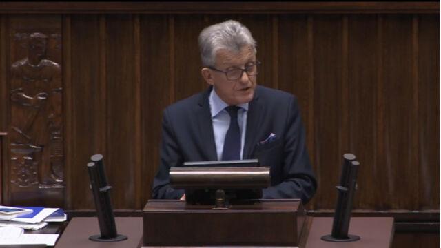 Stanisław Piotrowicz o prezydenckich projektach ustaw