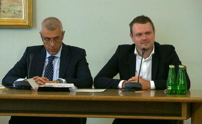 Przesłuchanie Michała Tuska przed komisją śledczą. Część 1