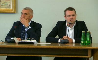 O uchylenie tych pytań - jako nie mających związku z pracą komisji - wnosił pełnomocnik świadka mecenas Roman Giertych
