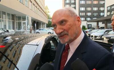 Macierewicz: ta komisja nie służyła do ustalenia czegokolwiek