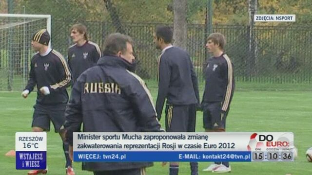 A co będzie jeśli pod hotel przyjdą kibice Rosji? (TVN24)