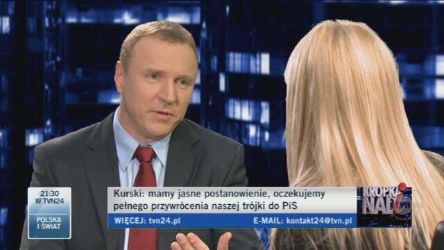 Kurski o prezesie PiS: Jesteśmy teraz w pewnym sporze