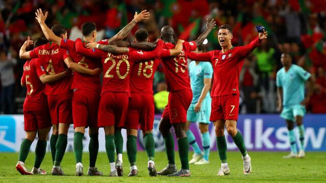 Portugalia pierwszym triumfatorem Ligi Narodów. Holendrzy wyraźnie słabsi