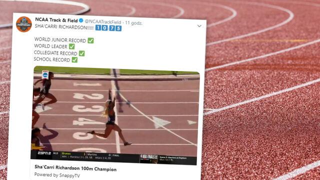 Dwa rekordy świata w godzinę. Amerykańska juniorka przeszła do historii