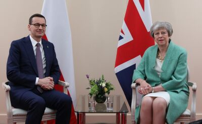 Premierzy Polski i Wielkiej Brytanii spotkali się przed uroczystościami 75. rocznicy lądowania aliantów w Normandii