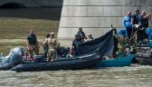 Znaleziono kolejne ciała pasażerów statku, który zatonął w Budapeszcie