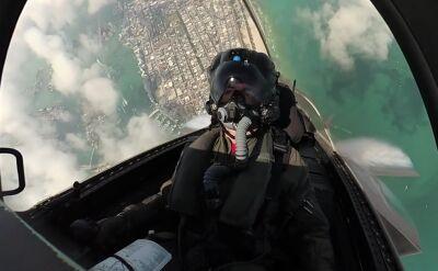 Podniebne akrobacje F-35