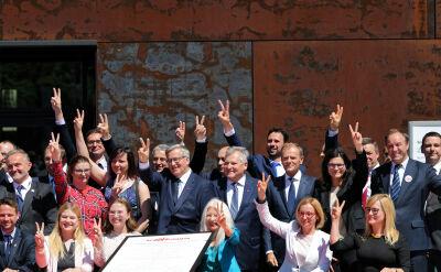 Podpisanie Gdańskiej Deklaracji Wolności i Solidarności