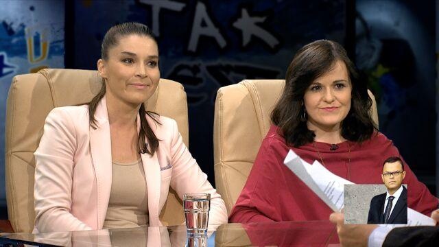 Katarzyna Gryga i Dorota Olko w Tak Jest