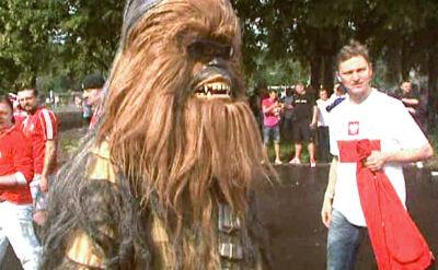 Chewbacca też kibicował naszym