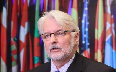 Waszczykowski: czas na debatę w PE jest niefortunny