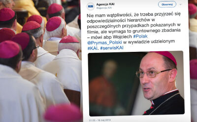 Prymas Polski dla KAI: trzeba przyjrzeć się odpowiedzialności hierarchów