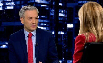 """Robert Biedroń w """"Kropce nad i"""""""