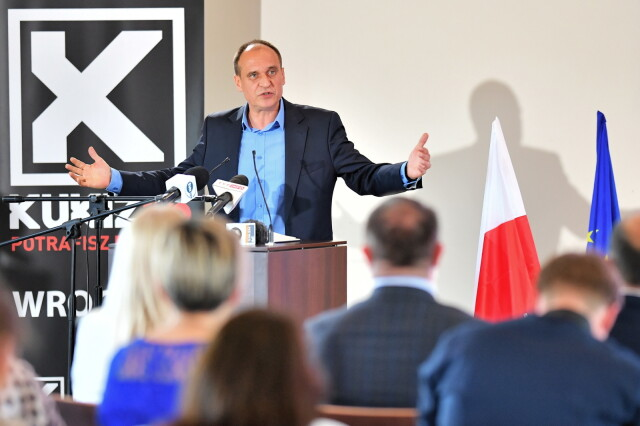 Kukiz: chcemy stworzyć nową frakcję w Europie