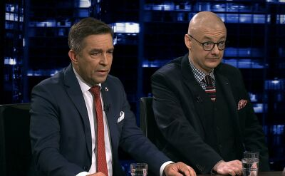 """Zbigniew Gryglas i Michał Kamiński w """"Kropce nad i"""". Cała rozmowa"""