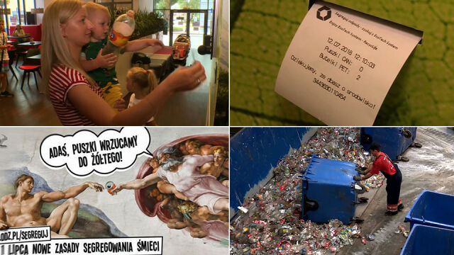 Segregowanie śmieci wciąż nie weszło Polakom w krew