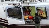Tak wyglądało transportowanie chłopców z jaskini do szpitala