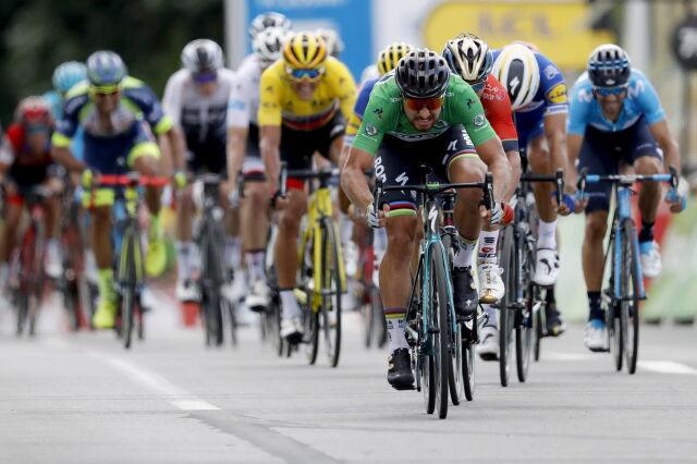 To nic, że pod górkę. Sagan znów najszybszy w Tour de France