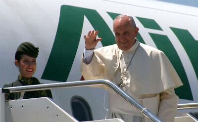 Papież wsiadł na pokład samolotu
