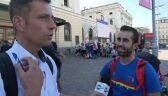 Hiszpański pielgrzym: teraz jadę do Brzegów