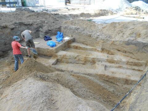 Pod ulicą Towarową w Poznaniu znaleziono około 1250 grobów