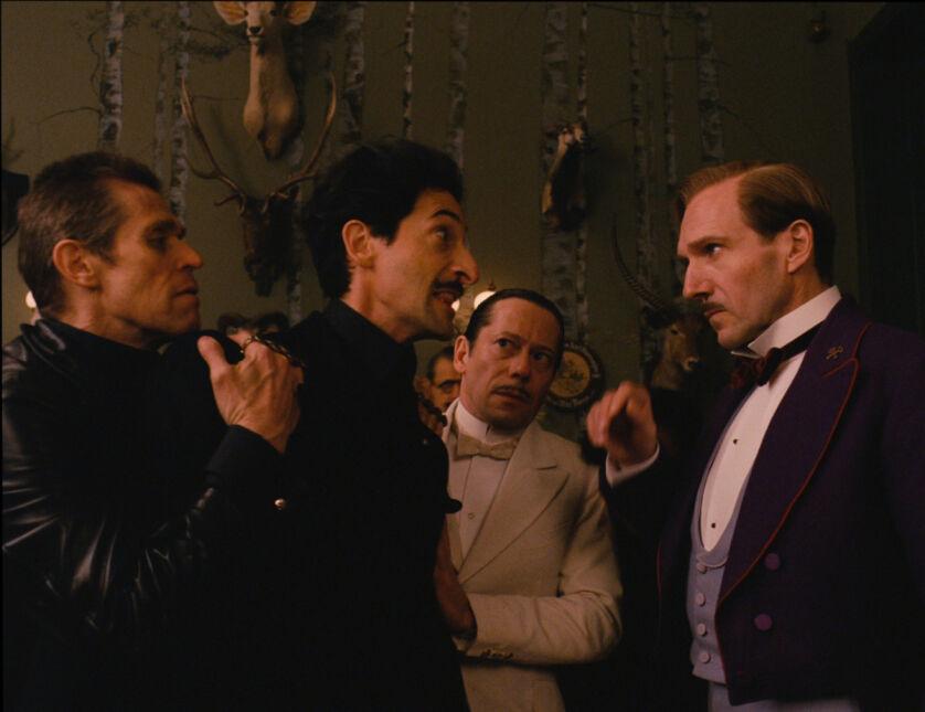 Willem Dafoe, Adrien Brody, Mathieu Amalric, Ralph Fiennes