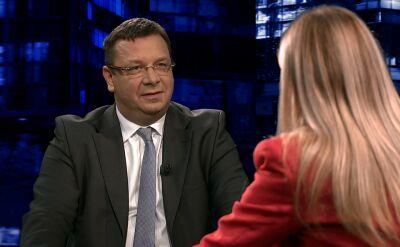 """Michał Wójcik, Barbara Dolniak i Stanisław Tyszka byli gośćmi """"Kropki nad i"""""""