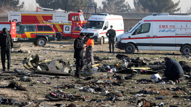 Iran. Katastrofa samolotu ukraińskich linii lotniczych MAU w Teheranie