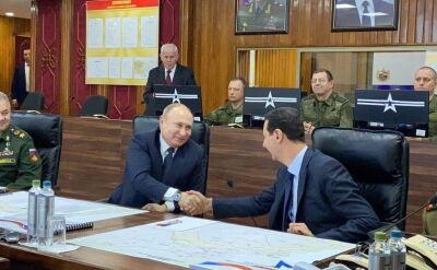 Władimir Putin spotkał się z Baszarem al-Asadem