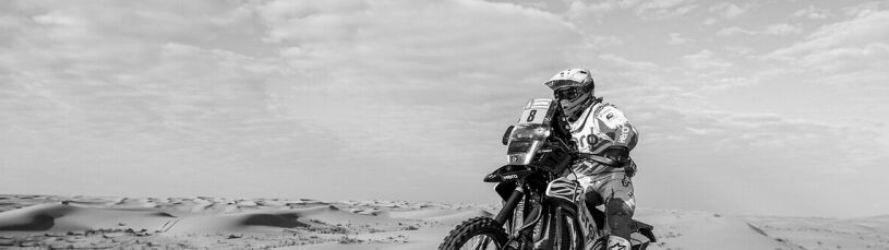 Tragedia w Rajdzie Dakar. Nie żyje portugalski motocyklista
