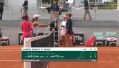 Linette i Kozłowa awansowały do 2. rundy gry podwójnej kobiet w Roland Garros