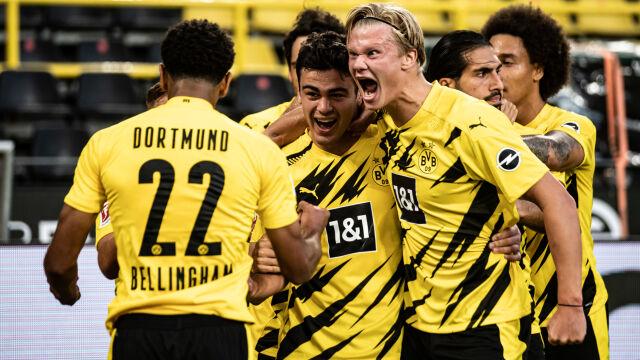 Borussia wreszcie się podniosła. Wielki mecz Haalanda i popis 17-latka
