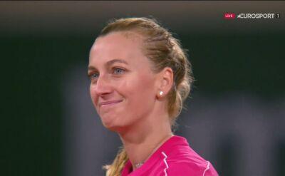 Kvitova awansowała do 2. rundy Roland Garros