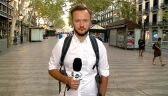 Reporter TVN24 w Barcelonie: ludzie przychodzą na La Rambla oddać hołd